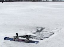 Snowkite 90km Cherkassy-Kremenchug