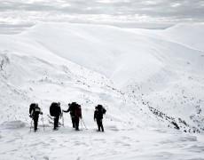 Зимние Карпаты с Киевлянами